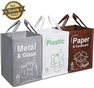 Opret Cubo Basura Reciclaje 3 Pack Bolsas de Reciclaje
