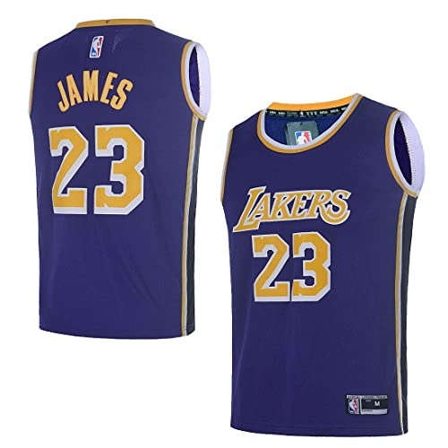 superior quality 0d38c 1173b Men's Lebron James Lakers Jersey: Amazon.com