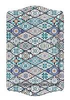 bohoria® - vassoio da portata decorativo per vetro, tazze, ciotole sul tavolo in legno, vetro o pietra (orientale)
