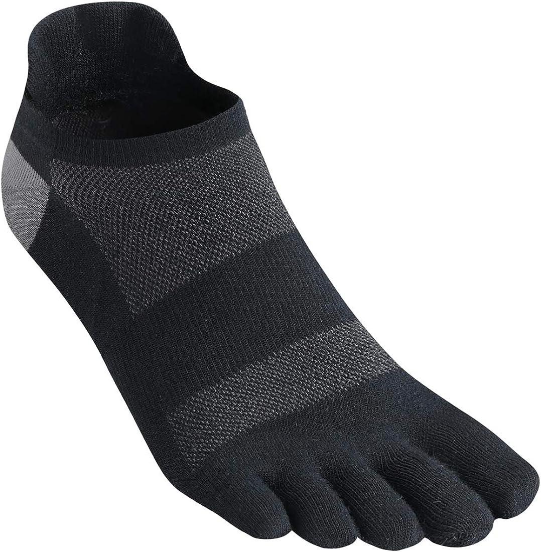 Toe Socks Five Finger 200 Needle Lightweight Running Athletic Breathable Low Cut Ankle Men Women Toesock