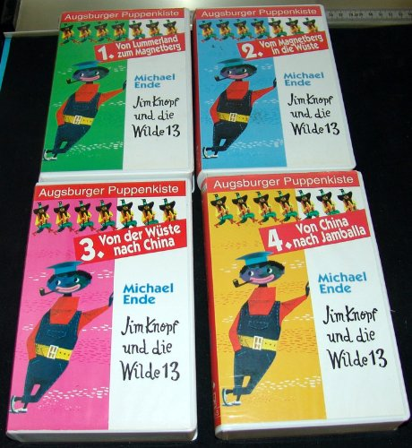Jim Knopf und die Wilde 13, Kassette 1 bis 4 (VHS)