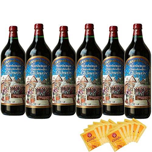 シュテルンターラー グリューワイン ホットワイン 用ティーバッグ12袋付き 1000mlx6本 コラム入り