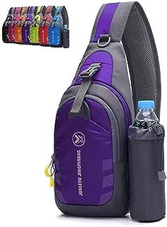 Chest Crossbody Sling Backpack Bag Travel Bike Gym Daypack for Women Men