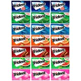 Trident Sugar Free Gum Variety Pack, 21 Packs (294 Pieces Total)