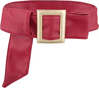 Samtree Soft PU Leather Elastic Wide Belt for Women Ladies Dress Stretch Thick Waist Belts