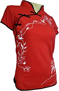 Amazing Grace Elephant Co. Sexy Chinese Dress Top Modern Qipao Cheongsam Top