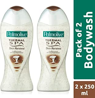 Palmolive Bodywash Thermal Spa Skin Renewal Shower Gel - 250ml (Pack of 2)