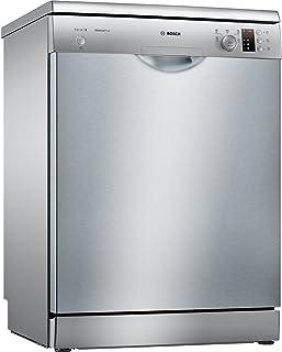 Bosch Serie 2 SMS25FI05E lavavajilla Independiente 14 cubiertos A++ - Lavavajillas (Independiente, Tamaño completo (60 cm), Acero inoxidable, Acero inoxidable, Botones, Giratorio, 1,75 m)
