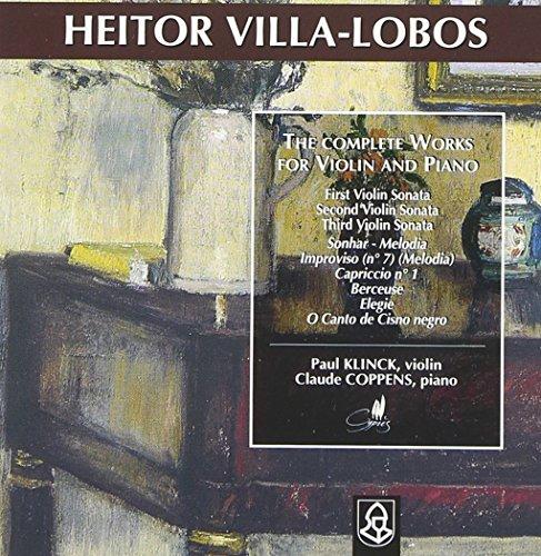 Heitor Villa-Lobos: Die Werke für Violine und Klavier
