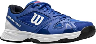 Wilson Junior Rush Pro 2.5 Dazzling Blue/White Boy's Tennis Shoe