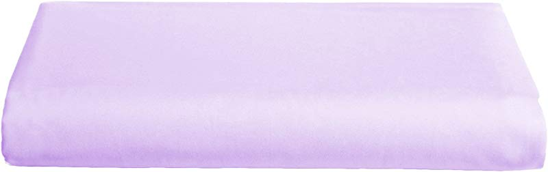 Babydoll Round Crib Poly Cotton Sheet Lavender