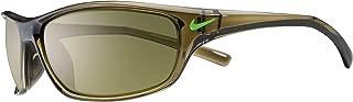 Nike Golf Men's Nike Rabid Rectangular Sunglasses, Cargo Khaki/Green Pulse Frame, 63 mm