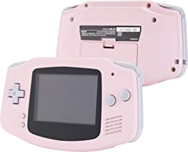 eXtremeRate Sakura Pink Soft Touch GBA Replacement Full Housing Shell Cover w/Buttons Screws Screwdriver Tools Set for Gam...