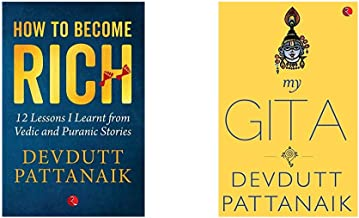 How To Become Rich: 12 Lessons I Learnt From Vedic And Puranic Stories + My Gita (Set of 2 Books)
