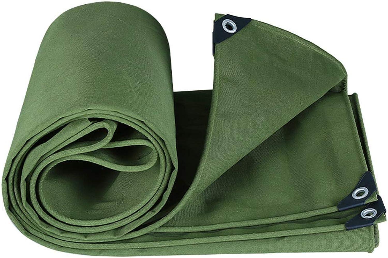 YHUJH Wasserdichte Plane Shade Shade Shade Covering The Rain Plus Dicke Windschutzscheibe aus Segeltuch, grün (Größe   3  5cm) B07P8712XD  Ausgezeichnete Qualität 00df77