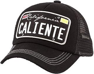 Caliente California Black (White Embroidery)