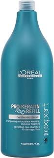 L'Oreal Professional Serie Expert Pro-Keratin Refill Correcting Care Shampoo, 50.7 Ounce