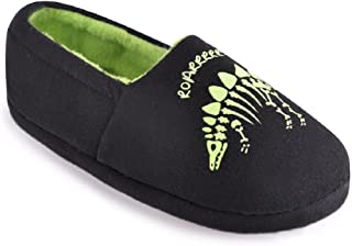 glow in the dark dinosaur slippers