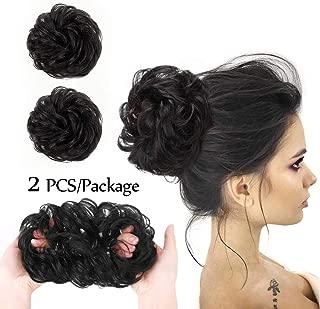 Best bun hair piece black hair Reviews