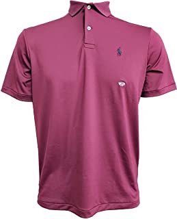 Polo Ralph Lauren Mens Performance Interlock Polo Shirt