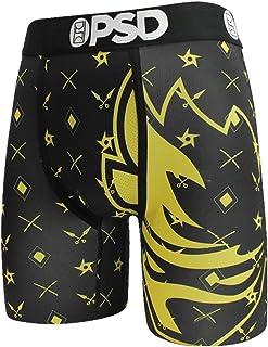 PSD Men's Ninja Pattern Face Boxer Brief Underwear