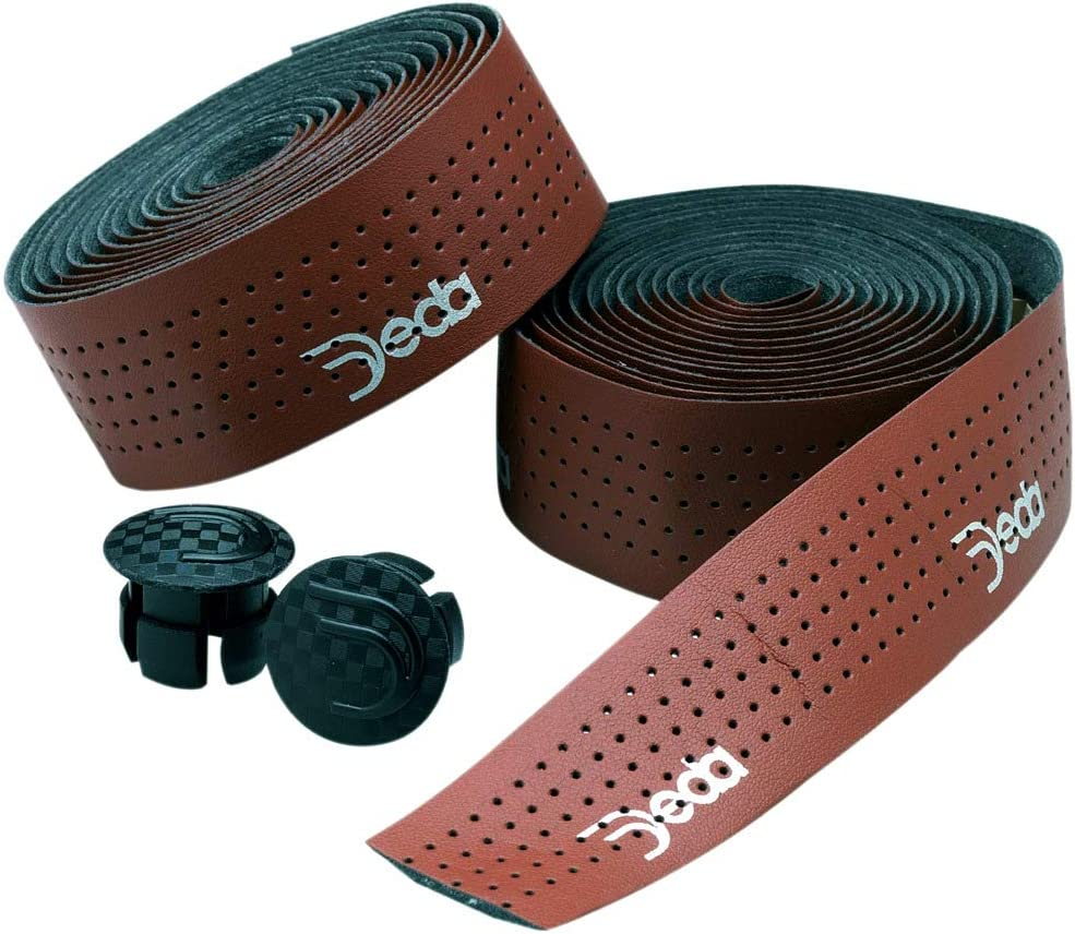 Deda - New High quality Mistral Bar Tape Recommendation Synthetic Brown Perforated R Leather