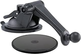 ARKON GN079WD Replacement Upgrade or Additional Windshield Dashboard Sticky Suction Mounting Pedestal with 3-Inch Arm for Garmin nuvi GPS