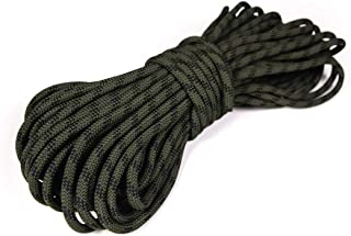 """Atwood Rope MFG 3/8"""" inch 100ft Braided Utility Rope. Camouflage, 100ft Made in USA, Lightweight Strong Versatile Rope for..."""