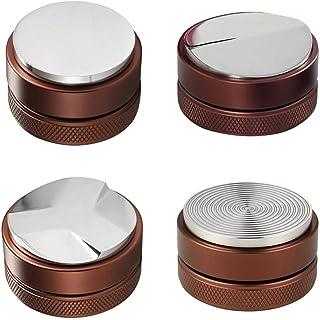 Baoblaze Tampons Manuels pour Outils de Nivellement Professionnels en Acier Inoxydable 2-4 Pièces - 4 Styles 58mm