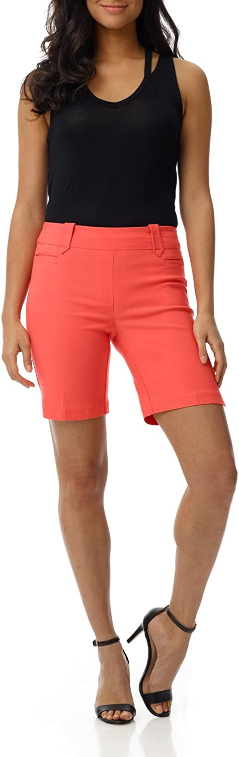 Rekucci Women's Ease into Comfort Perfection Modern Office Short