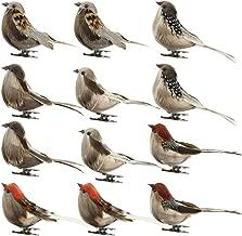 Hot Sale!DEESEE(TM)🌸🌸12PC/Set Birds Artificial Feather Foam Doves Wedding Decor Venue Ornament