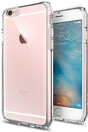 Spigen SGP11598 Ultra Hybrid Kompatibel mit iPhone 6S/6 Hülle, Einteilige Transparent Durchsichtige PC Rückschale Schutzhülle Case Crystal Clear