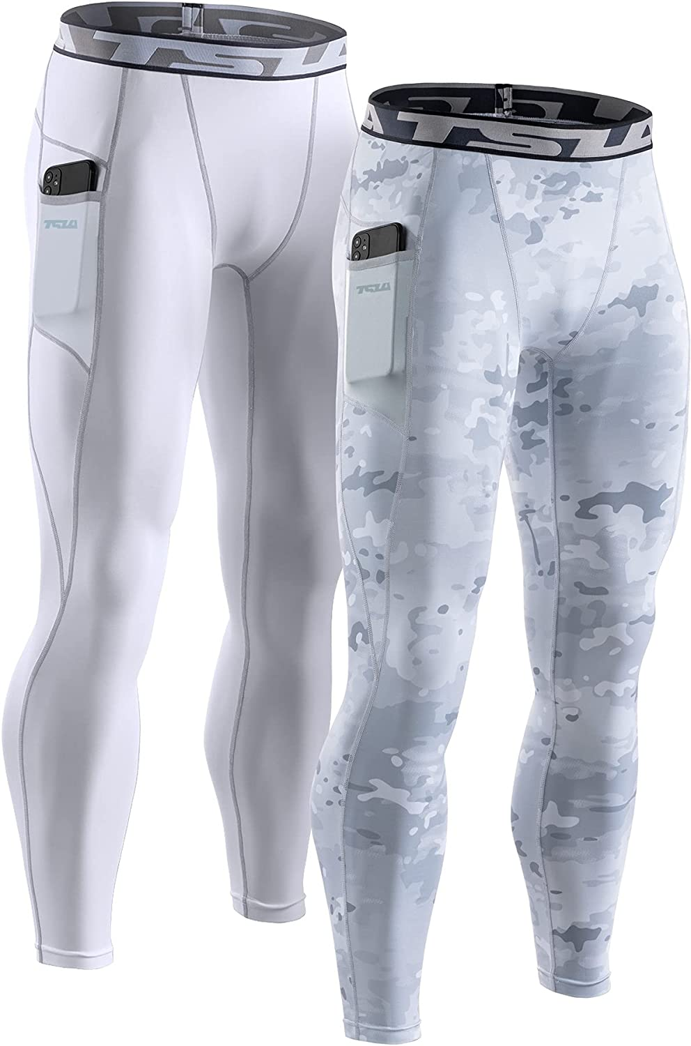 TSLA trend rank Reservation 1 2 or 3 Pack Men's Pants Compression Cool W Athletic Dry