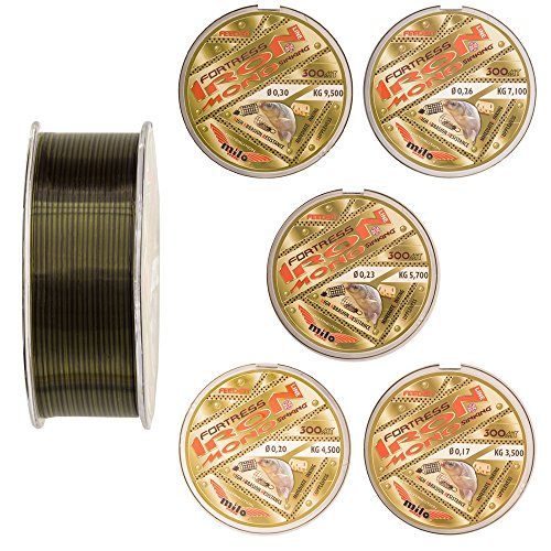 Unbekannt Feederschnur sinkend Method Feeder Schnur monofile Angelschnur 300 m (0,26 mm - 7,1 kg)