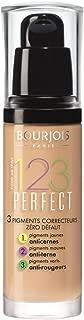 2 x Bourjois Paris 123 Perfect Foundation 30ml New & Sealed - 56 Rose Beige
