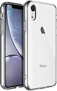Shamo's Case for iPhone XR [Crystal Clear] Cover [Shock Absorption] TPU Bumper Gel [Anti Scratch] Transparent (Clear)