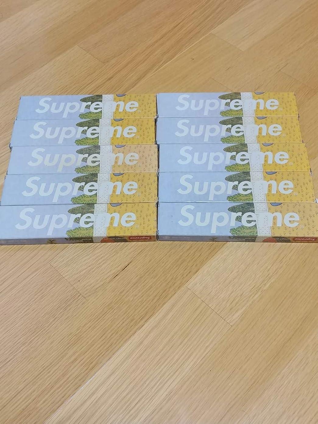 種類冷える縁石Supreme お香 10個セット