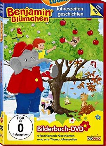 Jahreszeitengeschichten - Bilderbuch - DVD