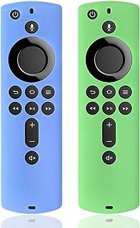 [2パック] シリコンカバーケース TVファイアスティック4K / TV(第3世代)用 第2世代リモコン対応