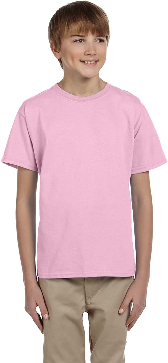 Product of Brand Gildan Youth Ultra Cotton 6 oz T-Shirt - Light Pink - S - (Instant Savings of 5% & More)