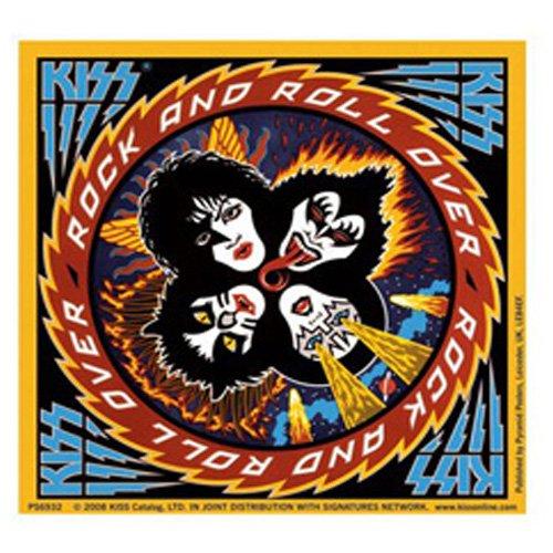 Kiss - Sticker Rock & Roll Over