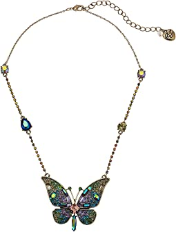 Betsey Johnson - Butterfly Pendant Necklace