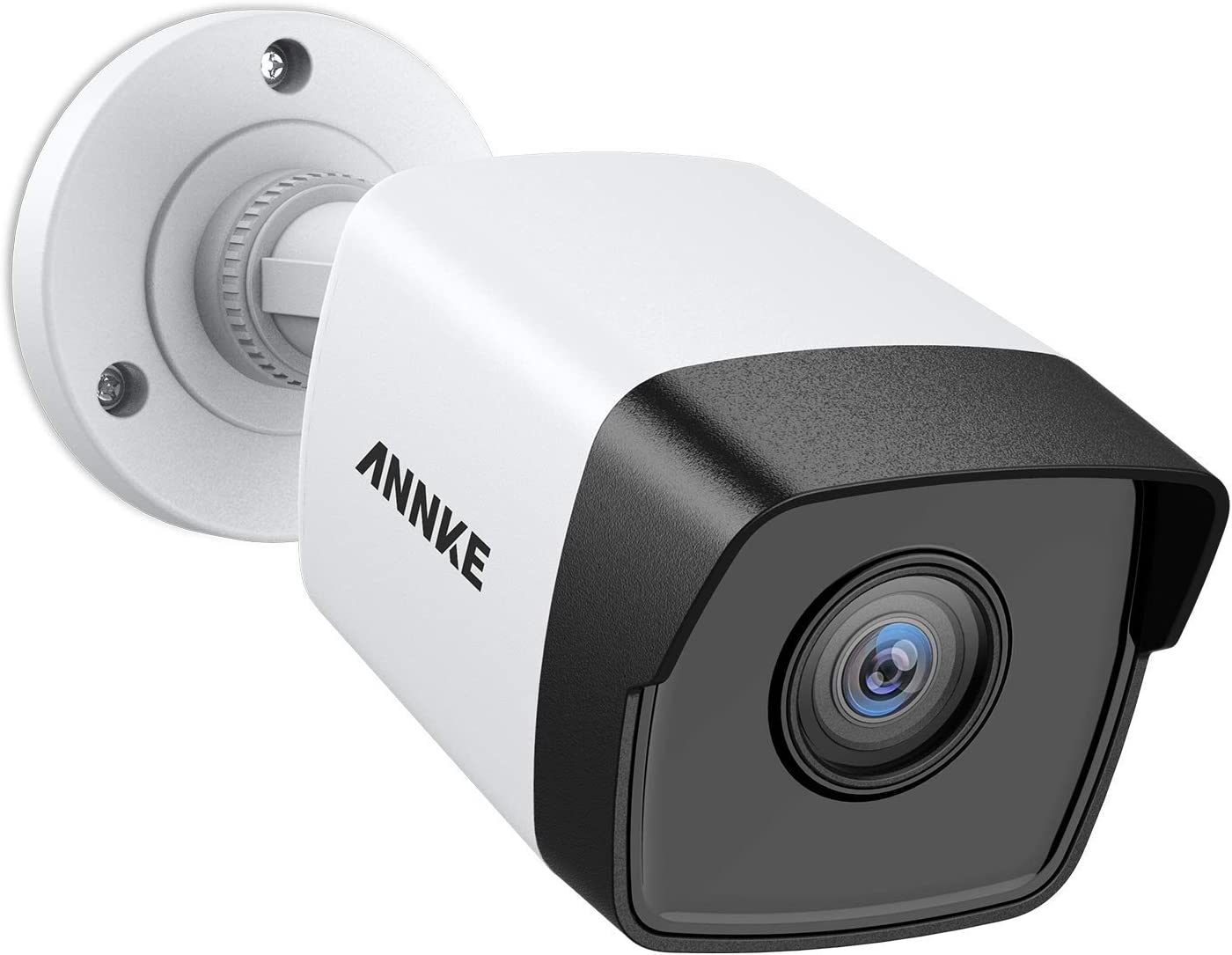 ANNKE 5MP PoE Security Camera 2560x1920 Super HD Bullet IP Cam, 100ft EXIR Night Vision, H.265+ Video Compression, Onvif Compliant, IP67 Weatherproof for Outdoor Indoor (Renewed)