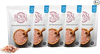 Premium Himalayan Pink Salt by Royal Chef House (Coarse, 10 Pound)