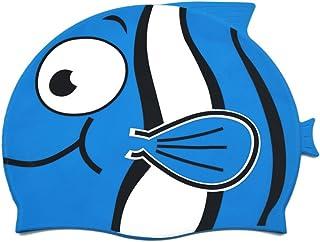 0dea05d64 Linda Touca Infantil Peixinho Azul Marinho Esporte Natação Piscina Nadar  Promoção Liquidação Barato Oferta Top