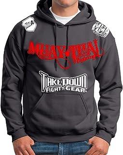 13e61bc25c01c Muay Thai Fighting Jiu Jitsu Stryker Fight Gear Hoodie Jacket Jumper MMA UFC  W   (