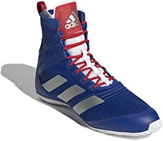 2021 Speedex 18 Boxing Boots - Blue Silver Red New