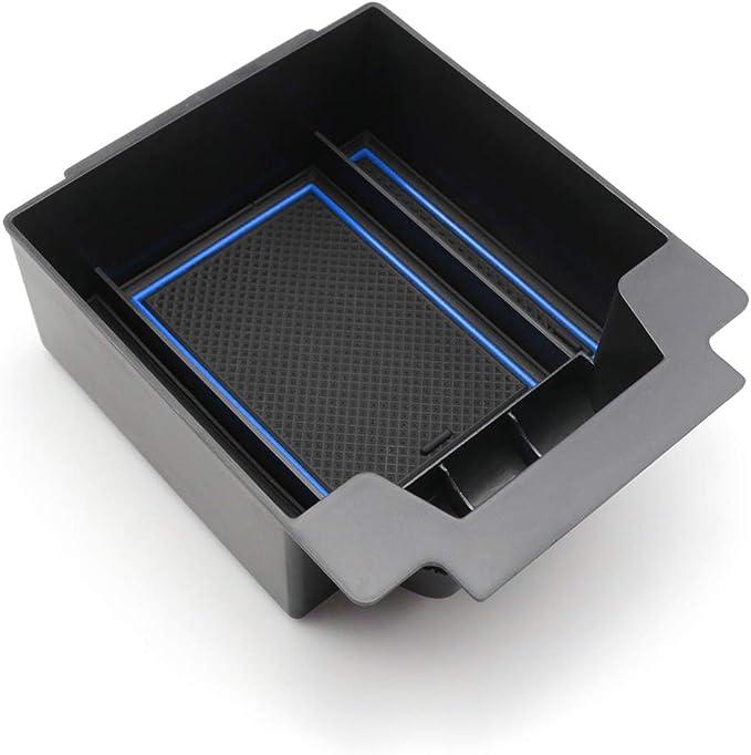 Cdefg Für Seat Ateca 2020 Handschuhfach Armlehne Multifunktionaler Aufbewahrung Auto Center Console Organizer Tray Innenraum Zubehöraum Zubehör Rot Auto