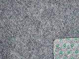 Ta-Bo Lifestyle Premium Kunstrasen Rasenteppich grau 10 mm mit Noppen 200 cm breit, 350x200 cm