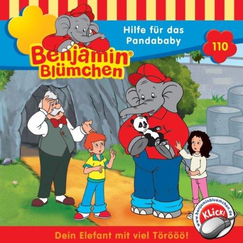 Hilfe für das Pandababy (Benjamin Blümchen 110) Titelbild